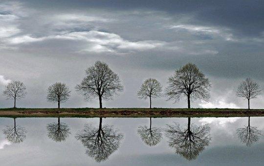 Belles images reflet miroir bon mardi amiti et partage for Miroir reflet