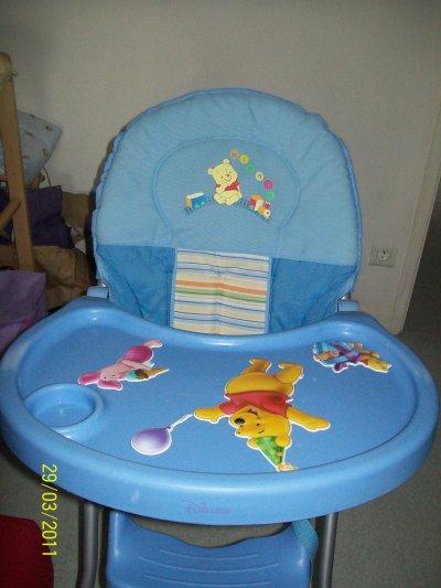 chaise haute winnie l 39 ourson princesse jade. Black Bedroom Furniture Sets. Home Design Ideas