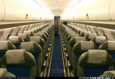 Alitalia expresse int rieur futur steward chez air france for Interieur avion