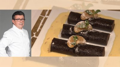 Cannellonis au chocolat de Christiant Constant, Chef a Top Chef 2011
