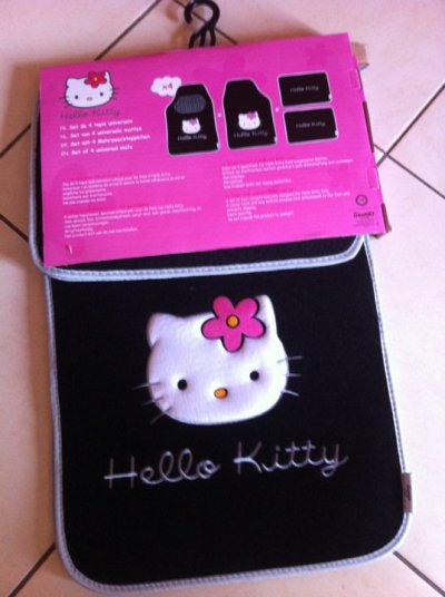 Tapis De Voiture Hello Kitty Hell0 Kitty
