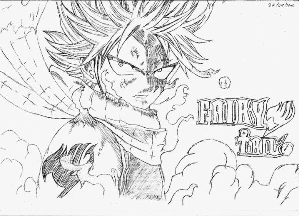Blog de wiliamus page 7 blog de wiliamus - Fairy tail coloriage ...
