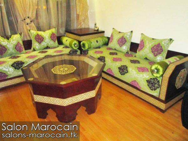 Articles De Salons Marocain Tagg S Tapissier Marocain Top Salons Morocain Decoration Moderne