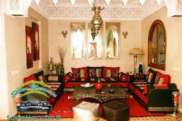 Articles De Salons Marocain Tagg S Interior Design Top Salons Morocain Decoration Moderne
