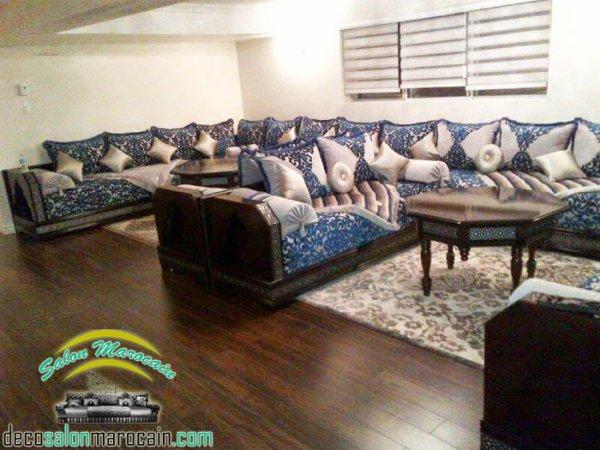 Articles de salons marocain tagg s salon marocain 2015 top salons morocain decoration Utilisation de tissus dans le salon