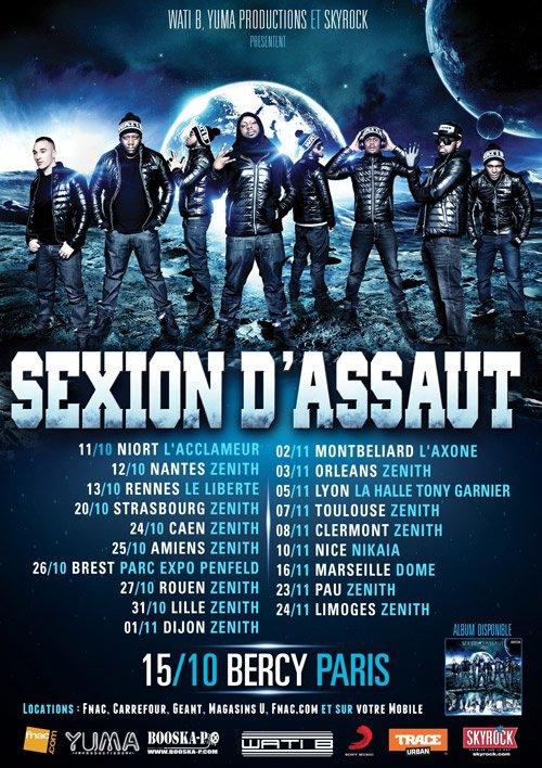 2 EME BERCY LE 15 OCTOBRER + TOURNEE DES ZENITHS OCTOBRE NOVEMBRE 2012!