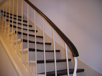 Cage escalier r novation peinture for Peinture escalier v