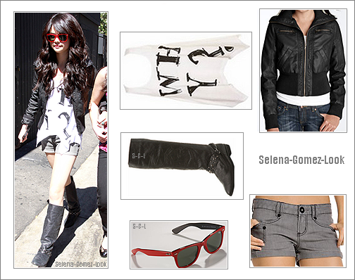Post� par Myriam . Selena : Candid de selena quittant le Roxy .
