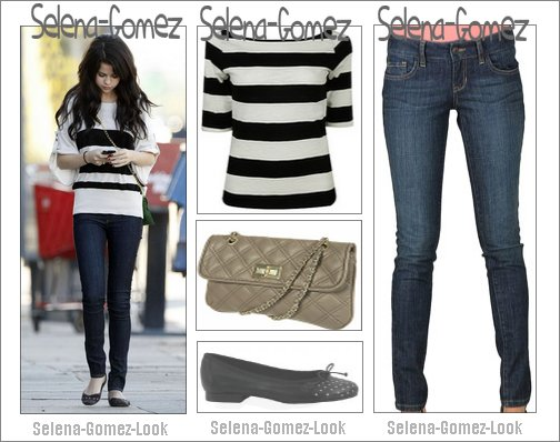 Tenue en partenariat avec Selena-Gomez