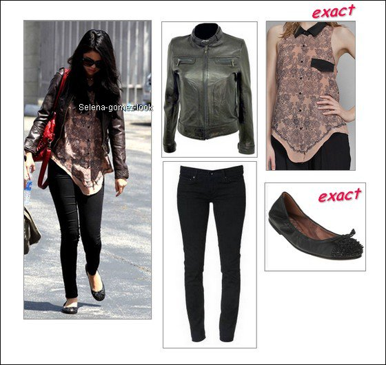 . Le 23 avril 2012:  Selena sortant d'un jet priv� � l'a�roport Santa Monica en Californie..