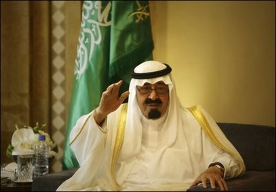 Le Roi Abdallah ben Abdelaziz Al Saoud  d'Arabie Saoudite en convalescence au Mazagan Beach Resort � 3km d'Azemmour