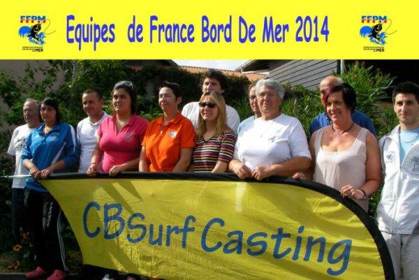 S�lections equipes de France 2014 - Vieux Boucau