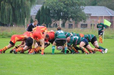 Rugby : Frameries s'impose en N1 - P�ruwelz et les Collines battus