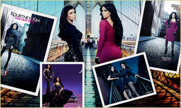 KOURTNEY & KIM : TAKE NEW YORK