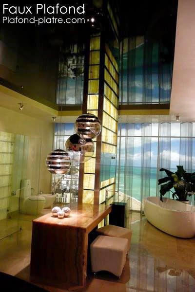faux plafonds pl tre exemple de finition faux plafond suspendu et tendu. Black Bedroom Furniture Sets. Home Design Ideas