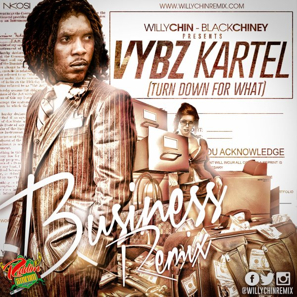Bunny Produced - Dj Snake, Vybz Kartel - Turn Down For What (2014)