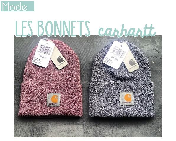 bonnets carhartt blogueuse passionn e. Black Bedroom Furniture Sets. Home Design Ideas