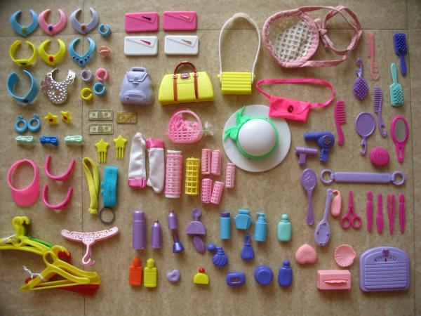 Maison de r ve barbie accessoires salle de bain a vendre for Accessoires maison barbie