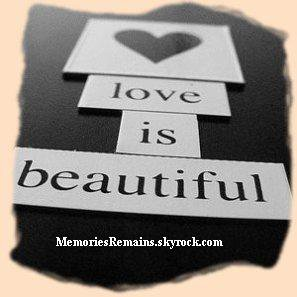 Fiche n�6 : Love is beautiful.