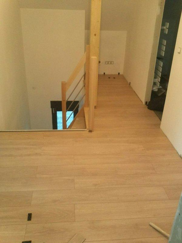 Samedi 16 fevrier parquet couloir rdc meuble salle de - Salle de bain dans un couloir ...