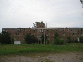 Le sanatorium abandonn� du Lac-Edouard, au Qu�bec.