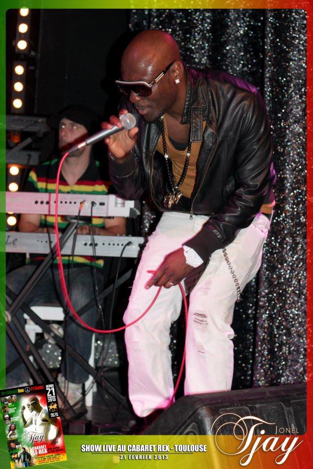Concert Jonel Tjay au Rex � Toulouse