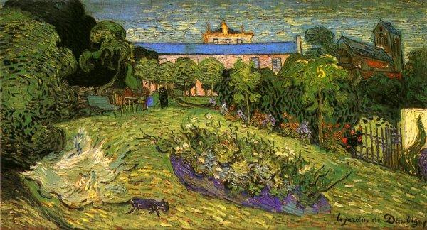 Vincent van gogh le jardin de daubigny auvers sur oise for Jardin a auvers van gogh