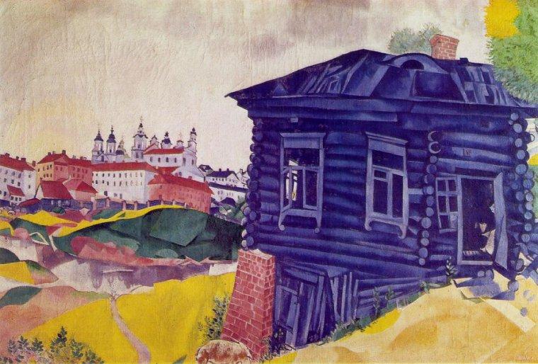 Marc chagall maison bleue maxime le forestier san francisco miscellan - Maxime leforestier maison bleue ...