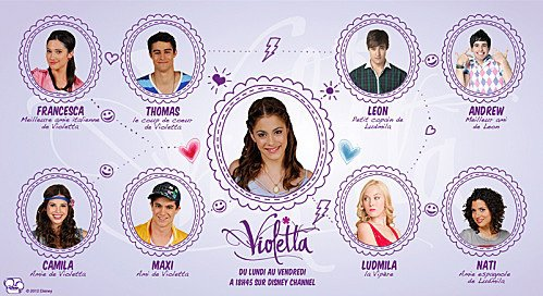 1000 images about violetta on pinterest - Carte violetta a imprimer ...