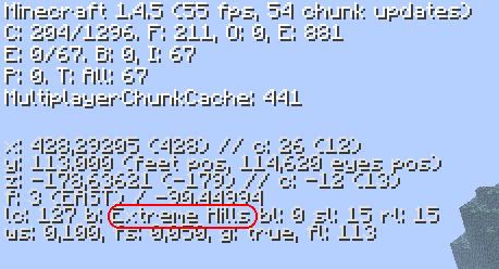 comment trouver la couche 16 minecraft