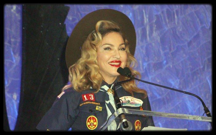 Quand Madonna defend une cause, elle le fait à fond. La preuve avec ...