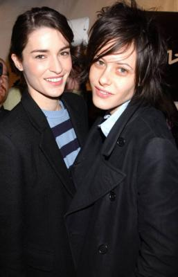 Katherine Moennig couple