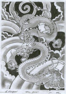 dragon jap 2 k tacombe tattoo c. Black Bedroom Furniture Sets. Home Design Ideas