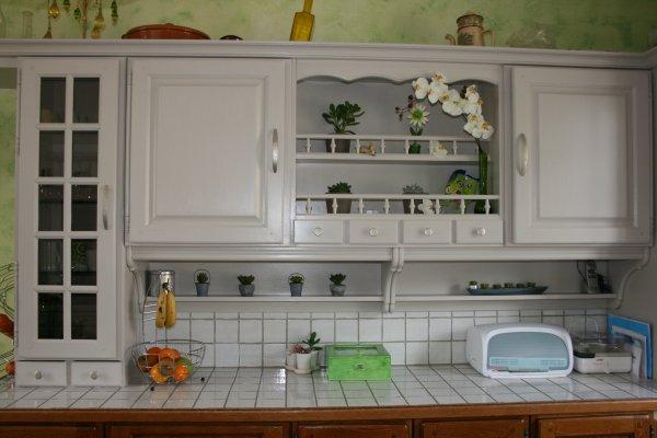 Ma cuisine avant apres carol bricole - Cuisine style shabby ...