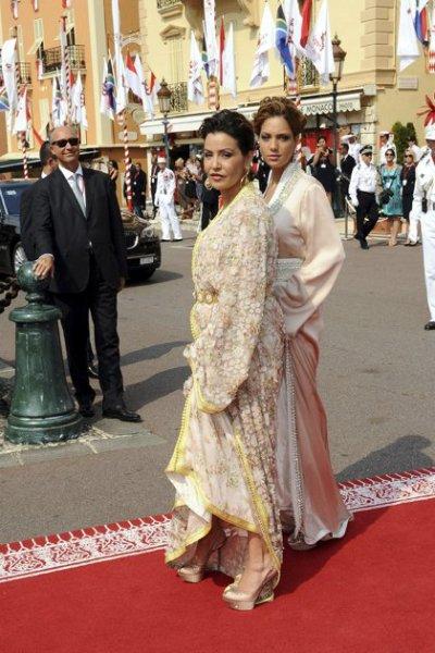 Monaco a �t� charm� par nos Princesses marocaines !