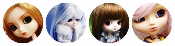 Mes Dolls ♥