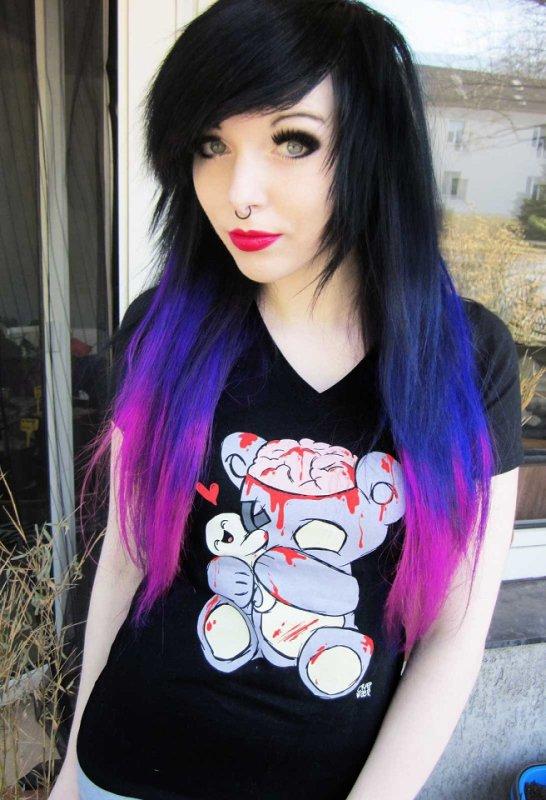 Iravampira1 S Articles Tagged Quot Purple Hair Quot Emo Ira