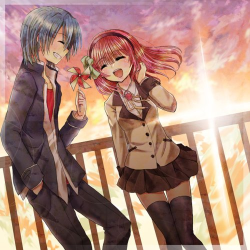Couples angel beats xd we love manga - Manga couple triste ...
