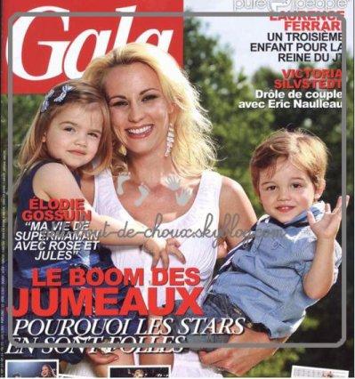Elodie gossuin et ses jumeau blog de enfant de star04400 - Elodie gossuin et ses enfants ...