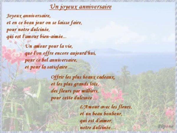 Texte anniversaire en espagnol