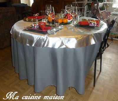 TABLE DE FETES 2012