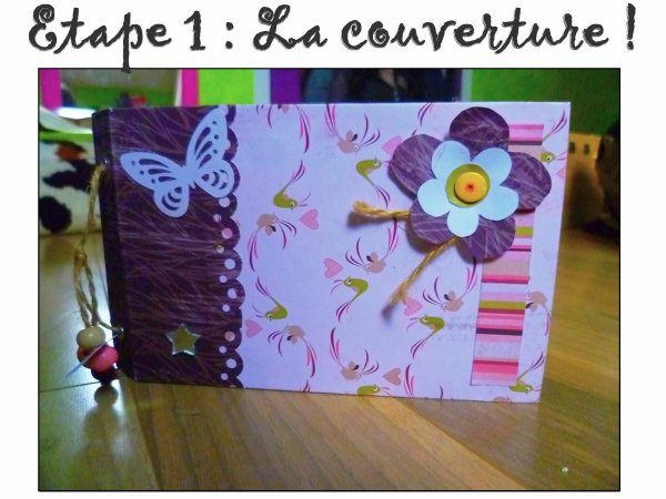 r aliser un album de scrapbooking les bidouilles de lili. Black Bedroom Furniture Sets. Home Design Ideas