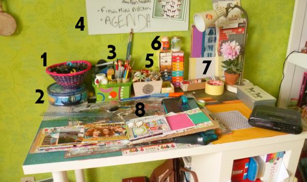 Organiser son atelier et son bureau fa on diy les for Bien organiser son bureau
