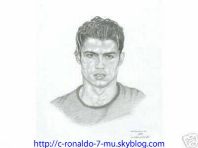 comment dessiner c.ronaldo