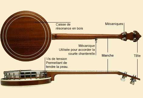 Le banjo � 5 cordes