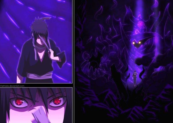 Quelques images des scans Naruto
