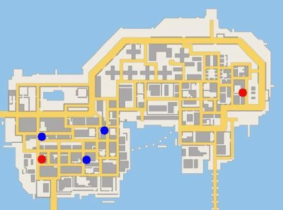 Les Planques de GTA Chinatown Wars