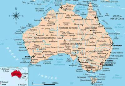 Photos carte de australie page 5
