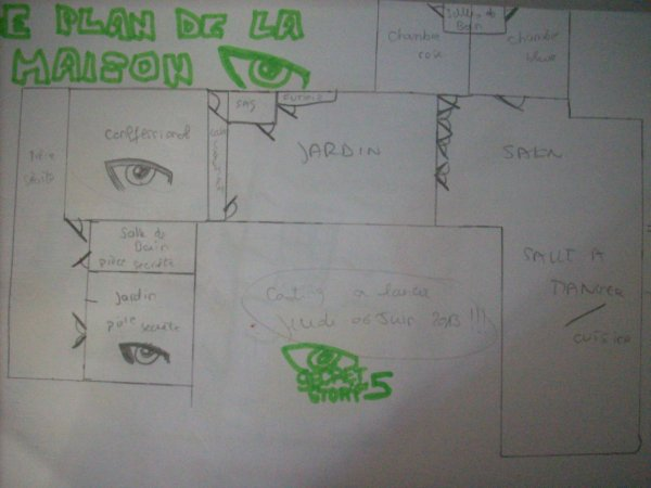 Secret story sims 5 d j les plans de la maison d voil s for Adresse maison secret story