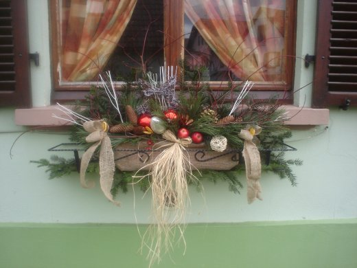 D cor de fen tres pour noel blog de passiondesfleurs for Decoration fenetre exterieur